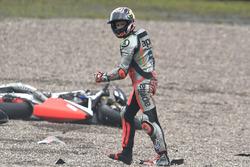 Stefan Bradl, Aprilia Racing Team Gresini crash