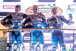 Podium: #94, GMT94 Yamaha, Yamaha: David Checa, Niccolo Canepa, Lucas Mahias