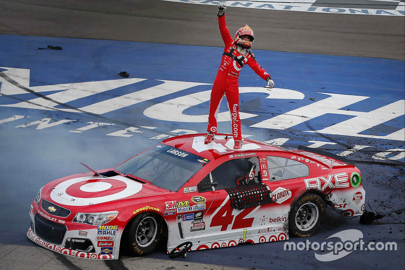 4. Переможець Кайл Ларсон, Chip Ganassi Racing Chevrolet