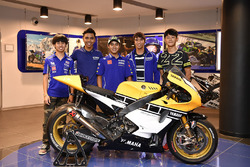 De deelnemers aan het Yamaha VR46 Master Camp