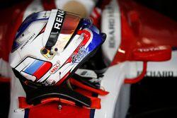 Helmet of Sergey Sirotkin, ART Grand Prix