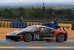 #87 Kessel Racing Ferrari 458 Challenge Evo: Peter Knoflach