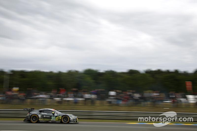 Даррен Тернер, Марко Сёренсен, Ники Тим, #95 Aston Martin Racing Aston Martin V8 Vantage GTE