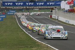 Martin Ponte, Nero53 Racing Dodge, Mariano Altuna, Altuna Competicion Chevrolet, Nicolas Gonzalez, A