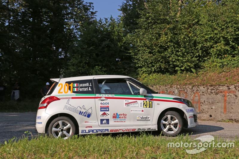 Jacopo Lucarelli, Alessio Ferrari Suzuki Swift R Trofeo R1 #201