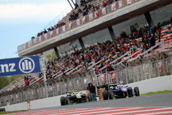 Colton Herta, Carlin Motorsport; Ferdinand Habsburg, Drivex School