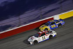 Denny Hamlin, Joe Gibbs Racing, Toyota; Jeffrey Earnhardt, Go Green Racing, Ford