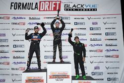 Podium: winner Matt Field, second place Chris Forsberg, third place Alec Hohnadell