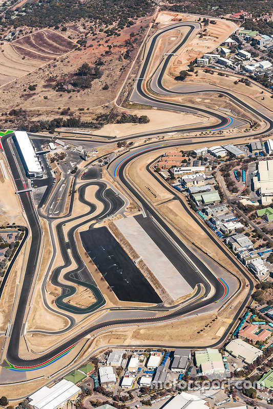 Kyalami circuit overview