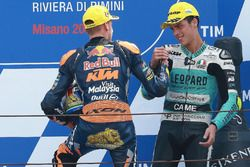 Yarış galibi Brad Binder, Red Bull KTM Ajo, 3. Joan Mir, Leopard Racing