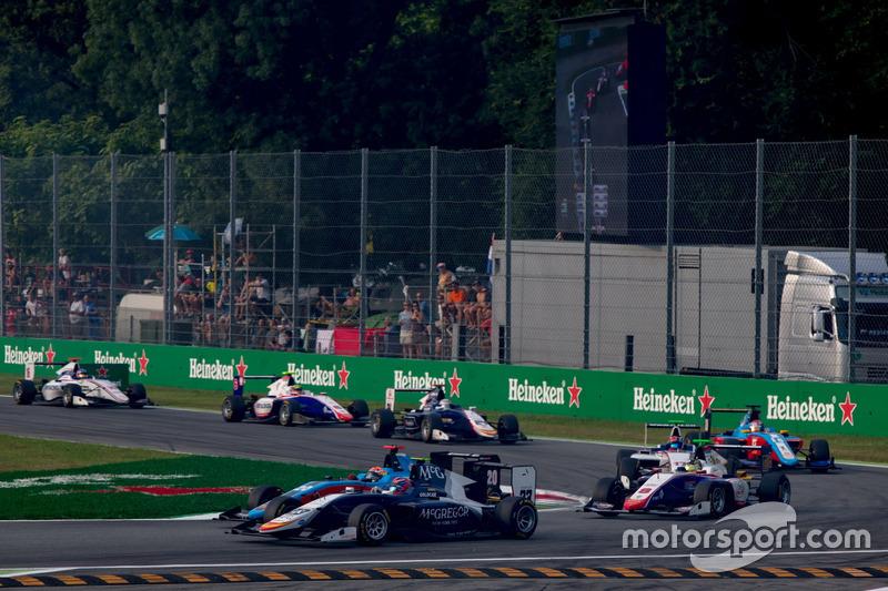 Steijn Schothorst, Campos Racing; Arjun Maini, Jenzer Motorsport