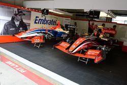 Fortec Motorsports garage