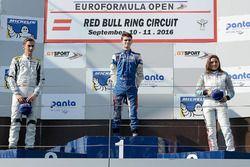 Podyum: 1.Colton Herta, Carlin Motorsport, 2. Ferdinand Habsburg, Drivex School, 3. Tatiana Calderon, Teo Martin Motorsport