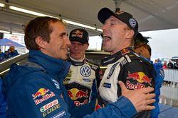 Fabrice van Ertvelde; Jari-Matti Latvala, Miikka Anttila, Volkswagen Polo WRC, Volkswagen Motorsport