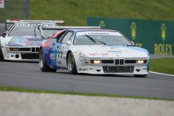 Jan Lammers lors de la course des légendes de BMW M1 Procar