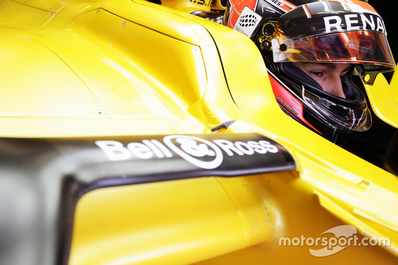 Esteban Ocon Renault Sport F1 Team RS16 test pilotu