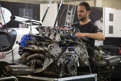 Extreme Speed Motorsports Ligier JS P2 Nissan engine