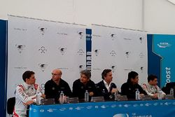 Pressekonferenz mit Loic Duval, Dragon Racing