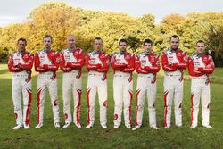 Stéphane Lefebvre, Gilles de Turckheim, Citroën DS3 WRC, Abu Dhabi Total World Rally Team; Kris Meek