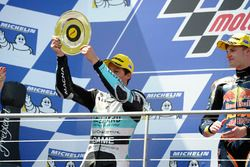 Podium: second place Andrea Locatelli, Leopard Racing