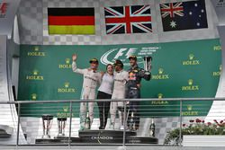 Podium: 1. Lewis Hamilton, Mercedes AMG F1; 2. Nico Rosberg, Mercedes AMG F1; 3. Daniel Ricciardo, R