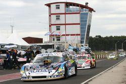 Martin Ponte, Nero53 Racing Dodge, Juan Pablo Gianini, JPG Racing Ford, Omar Martinez, Martinez Comp
