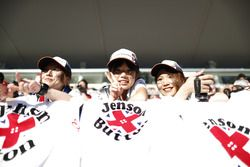 Jenson Button japán rajongói