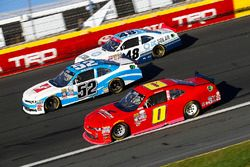 Joey Gase, Chevrolet, Garrett Smithley, Chevrolet, Brennan Poole, Chip Ganassi Racing Chevrolet