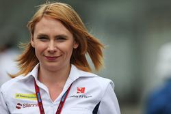 Ruth Buscombe, Sauber F1 Team Ingeniero de la estrategia de tierra