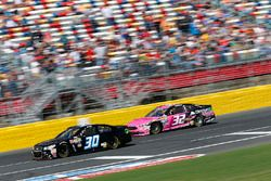 Josh Wise, The Motorsports Group, Chevrolet; Jeffrey Earnhardt, Go Green Racing, Ford