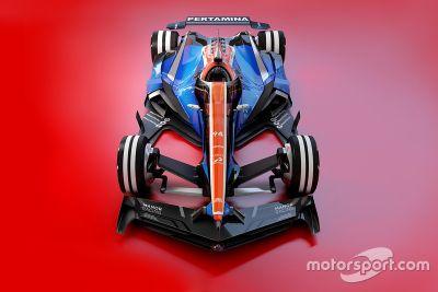 Formel-1-Designstudien für 2030