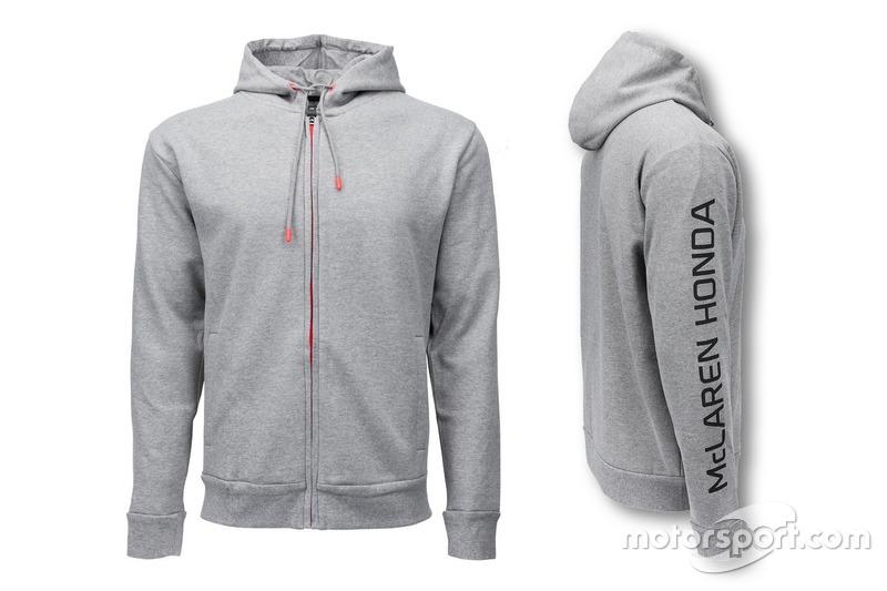 Veste à capuche McLaren-Honda 2016 grise