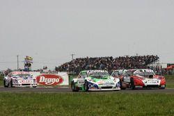 Santiago Mangoni, Laboritto Jrs Torino, Jose Manuel Urcera, Las Toscas Racing Chevrolet, Camilo Echevarria, CAR Racing Chevrolet