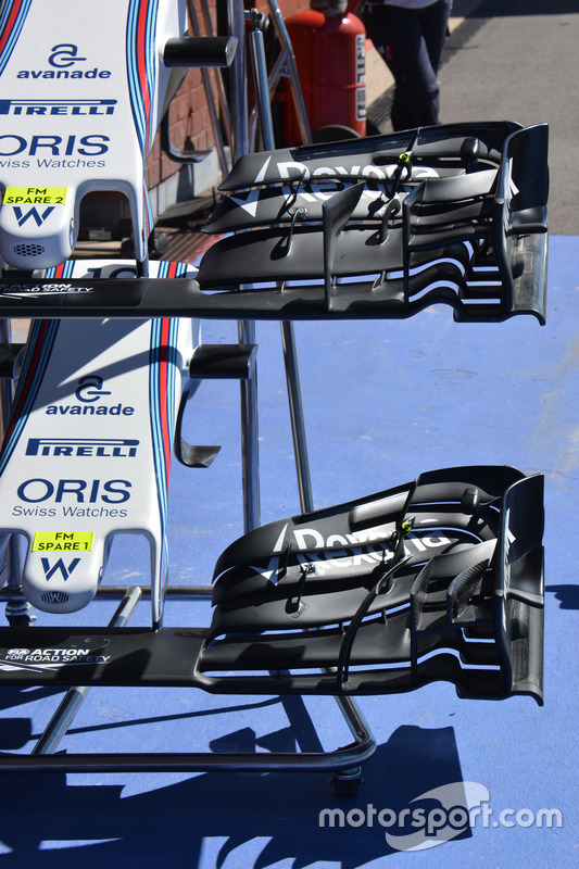 Front wings, Williams FW38