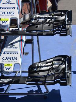 Alas delanteras, Williams FW38