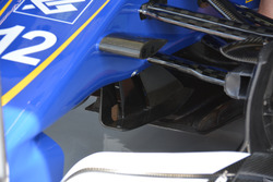Sauber C38, dettaglio