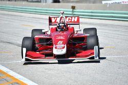 Pole sitter Zach Veach, Belardi Auto Racing