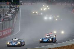 #35 Baxi DC Racing Alpine A460 Nissan: David Cheng, Ho-Pin Tung, Nelson Panciatici, #36 Signatech Al