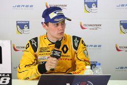 Press conference: winner Louis Deletraz, Fortec Motorsports