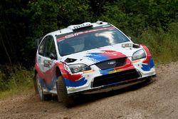 Luciano Cobbe e Fabio Turco, Ford Focus WRC