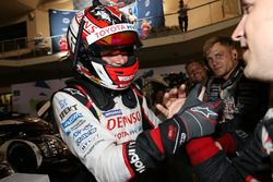 Tercer lugar Stéphane Sarrazin, Toyota Racing