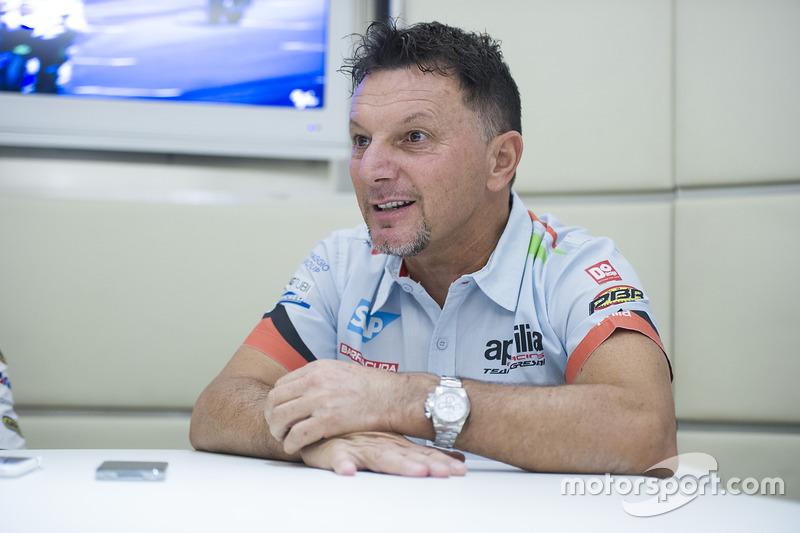 Fausto Gresini, Aprilia Gresini Racing Team Director del equipo
