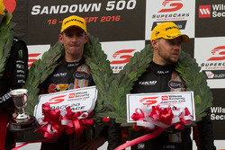 Podium: 3. Will Davison und Jonathon Webb, Tekno Autosports, Holden