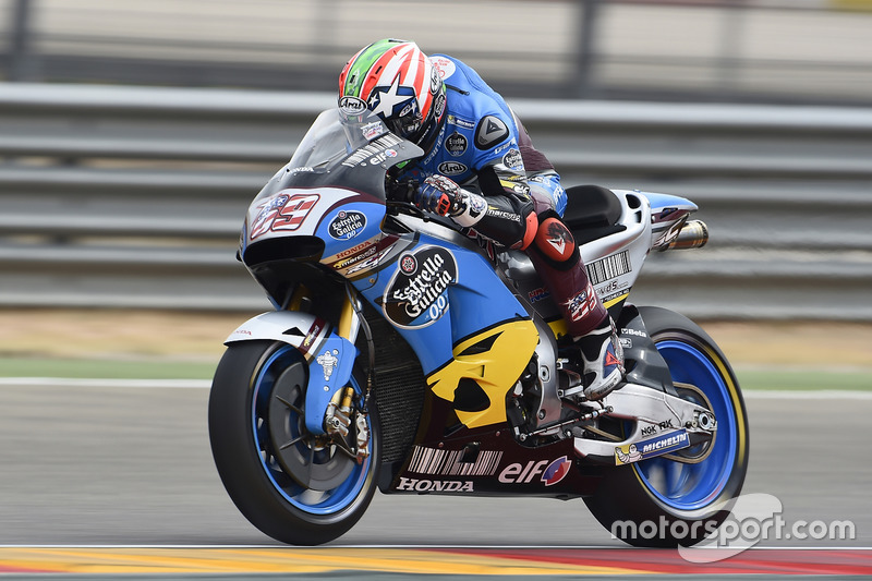 2016: MotoGP return as stand-in for Jack Miller