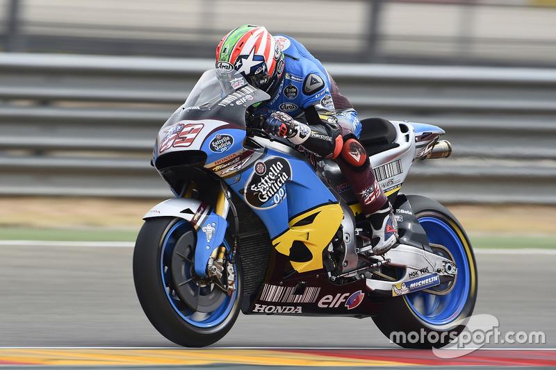 2016: Marc VDS (MotoGP), GP de Aragón, 15º lugar