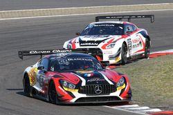 #89 Akka ASP, Mercedess SLS AMG GT3: Laurent Cazenave, Michael Lyons, Daniele Perfetti