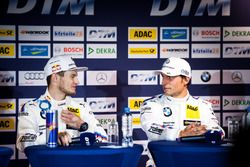 Press Conference: Marco Wittmann, BMW Team RMG, BMW M4 DTM and Bruno Spengler, BMW Team MTEK, BMW M4 DTM
