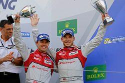 Troisième place pour #7 Audi Sport Team Joest Audi R18: Marcel Fässler, Andre Lotterer