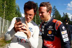 Thierry Neuville, Hyundai Motorsport, Kevin Abbring, Hyundai Motorsport