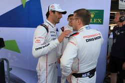Mark Webber, Brendon Hartley, Porsche Team, Andreas Seidl, Takım Patronu Porsche Team